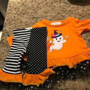Halloween Bonnie Baby Set Only Wore Once